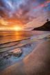 Coucher de soleil sur Grande-Anse - La Réunion