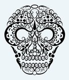 Skull decorative ornament