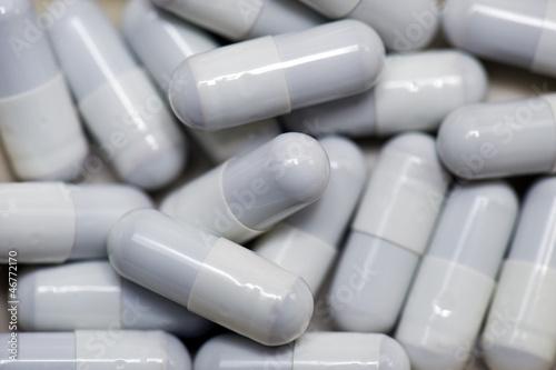 Grey capsules