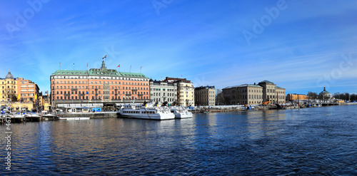 Stockholm panoramic view, Sweden