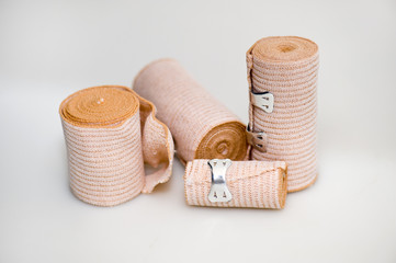 Four bandages