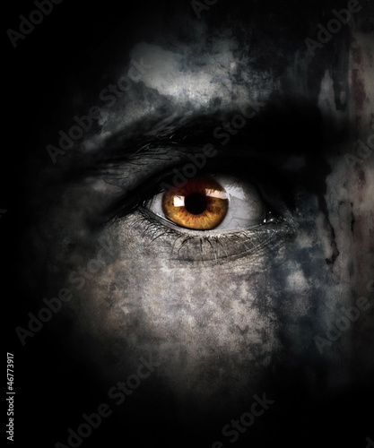 canvas print picture I watch you