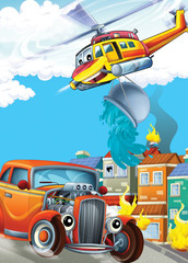 The car and the flying machine