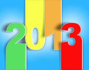 2013 buon anno nuovo auguri - card