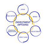 Investment options poster