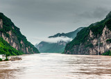 travel on the Yangtze River, with beautiful views of the mounta