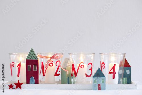 Advent Weihnachten Dekoration