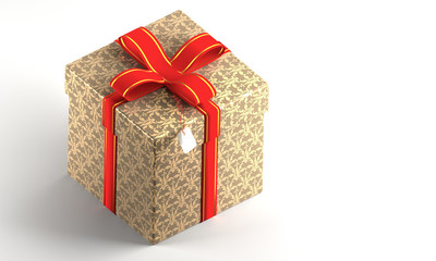 Present Box Computer Generated Image