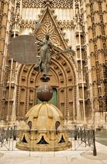 Sevilla Giralda Denkmal
