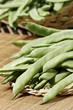 green beans pods