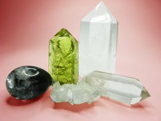 quartz citrine geode geological crystals