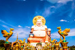 Smiling Buddha statue in Koh Samui, Thailand