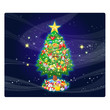 Beautiful Christmas of the winter design. Xmas Season background