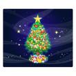 Beautiful Christmas of the winter design. Xmas Season background