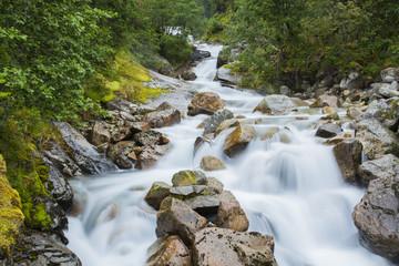 Cascade d'eau zen