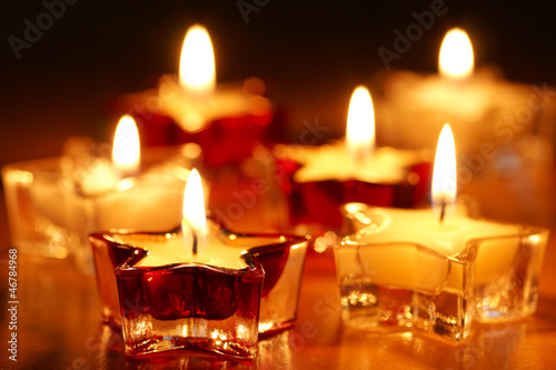canvas print picture Candlelights