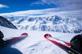 Fototapeta prędkość - narciarski - Sporty Zimowe