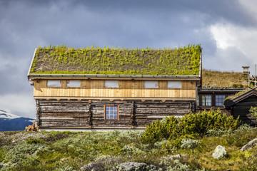 Wood house in norway