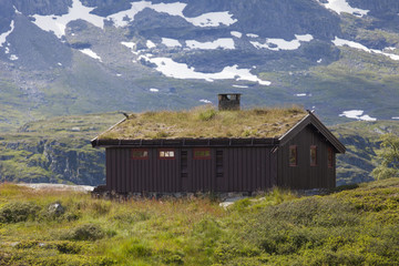 Wood house in norway