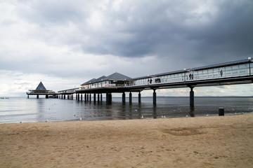 Ostsee Seebrücke am Meer