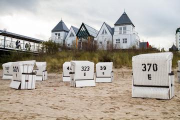Strandkörbe am Meer Ostsee Usedom