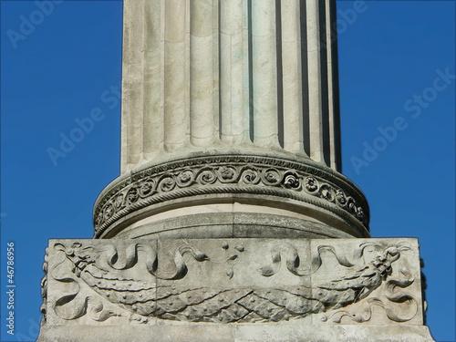 Säulenfundament