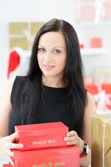 weihnachtsgeschenke auspacken