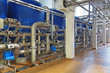 Brewing production - department for preparation of the water