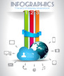 Cloud Computing Infographic concept background