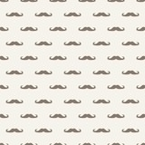Fototapety Seamless vector pattern texture gentleman mustaches background