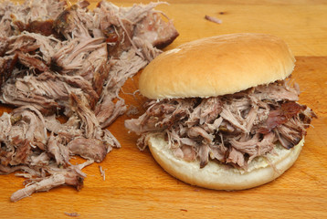 Hog Roast or Pulled Pork Roll