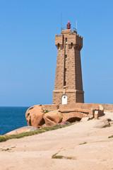 Lighthouse Men Ruz at Brittany, France