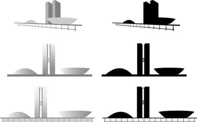 Arquitetura do Congresso Nacional de Brasilia