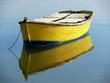 barque reflet dans l'eau