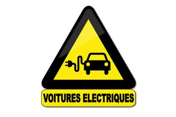 Panneau voitures électriques