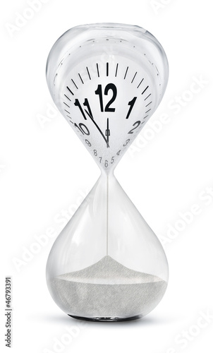 Leinwandbild Motiv the eleventh hour, fünf vor zwölf