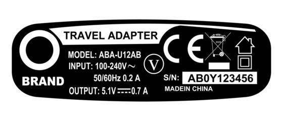 Apparecchiature elettroniche con marchio CE