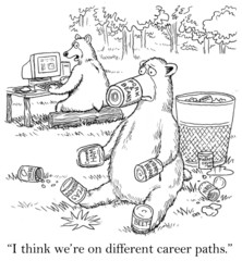 Bears think they are on different career paths