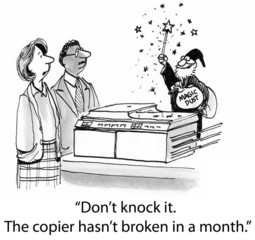 The Copier Works Like Magic from Merlin