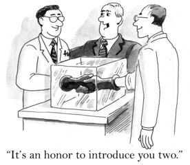 It's an honor to introduce you too