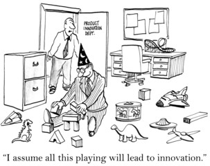 Stop playing and innovate