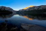 Fototapety Wunderschönes Abendlicht am See