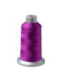 Bobbin of purple thread