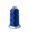 Bobbin of dark blue thread