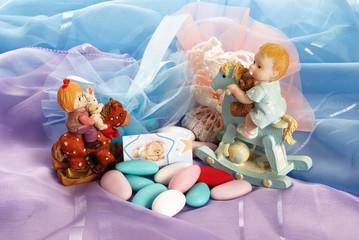 BOMBONIERE PER BATTESIMO ( wedding favors for baptism )
