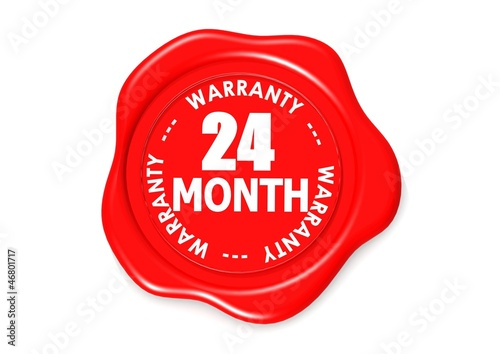Twenty four month warranty seal