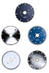 Saw Blades Isolated