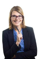 Female Consultant with Glasses
