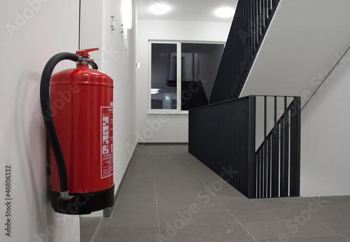 Leinwanddruck Bild Feuerlöscher