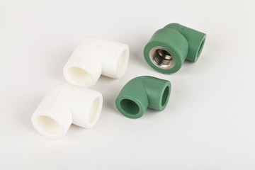 fittings for metal and PVC pipes.